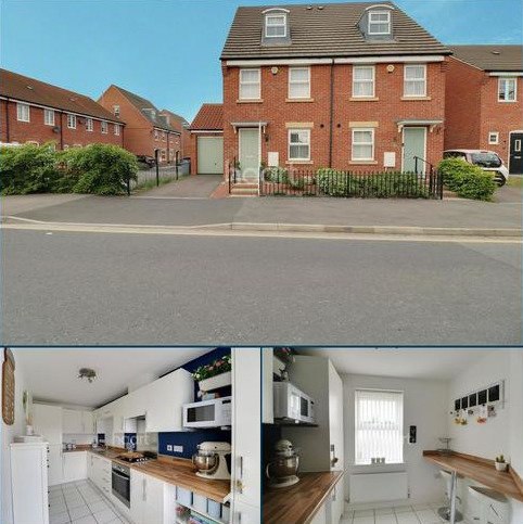 3 bedroom semi-detached house for sale - Caunt Road, Grantham