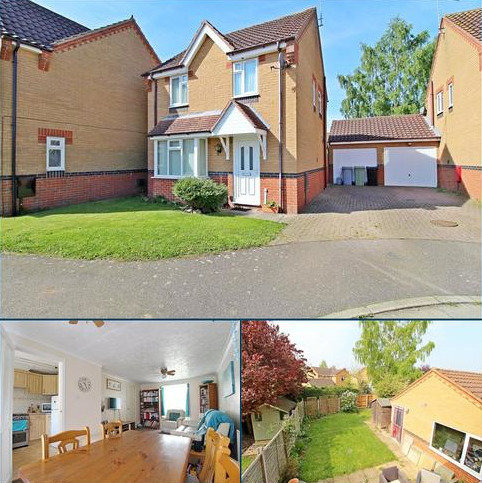 3 bedroom detached house for sale - Sorrel Close, Deeping St. James, Peterborough, PE6