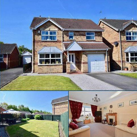 4 bedroom detached house for sale - St. Aiden Close, Market Weighton