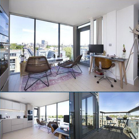 2 bedroom flat for sale - Canalside Square, Islington, London, N1