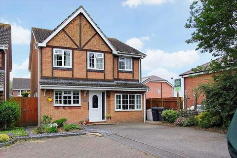 4 bedroom detached house for sale - Teasel Close, Ludgershall