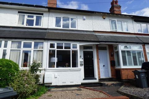 2 bedroom terraced house to rent - Aubrey Road, Harborne, Birmingham, B32 2BA
