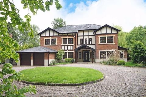 6 bedroom detached house for sale - Brooks Drive, Hale Barns, Cheshire