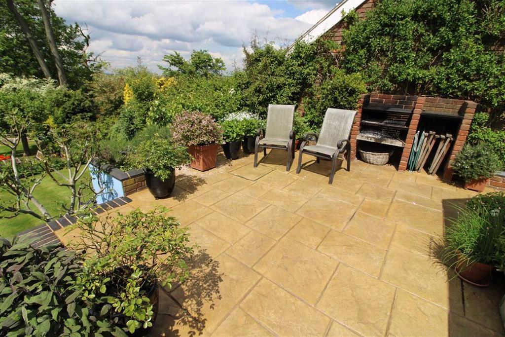 Delightful landscaped rear garden and spinney