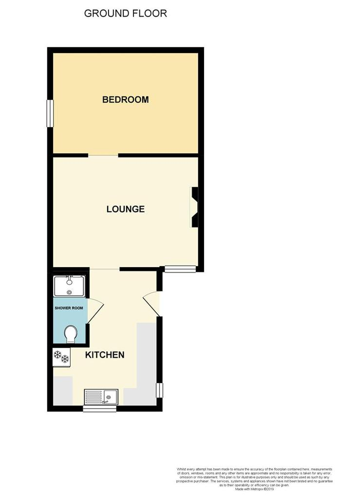 Floorplan: The Garden Flat Sticklepath Hill High.jpg