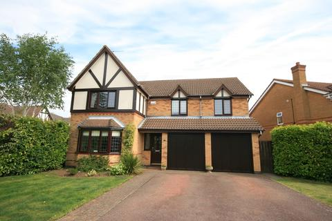 5 bedroom detached house for sale - Harris Close, Wootton, Northampton, NN4