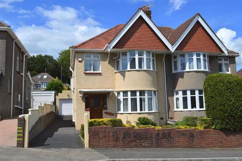 3 bedroom semi-detached house for sale - Harlech Crescent, Sketty, Swansea