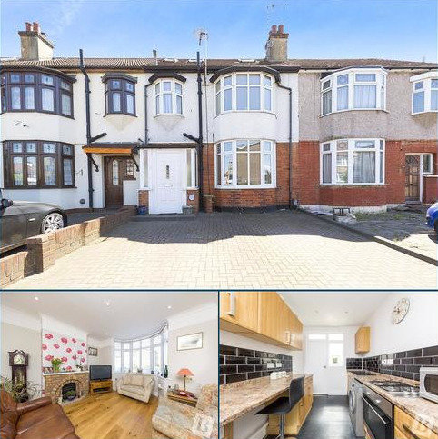 3 bedroom terraced house for sale - Brentwood Road, Romford, RM1