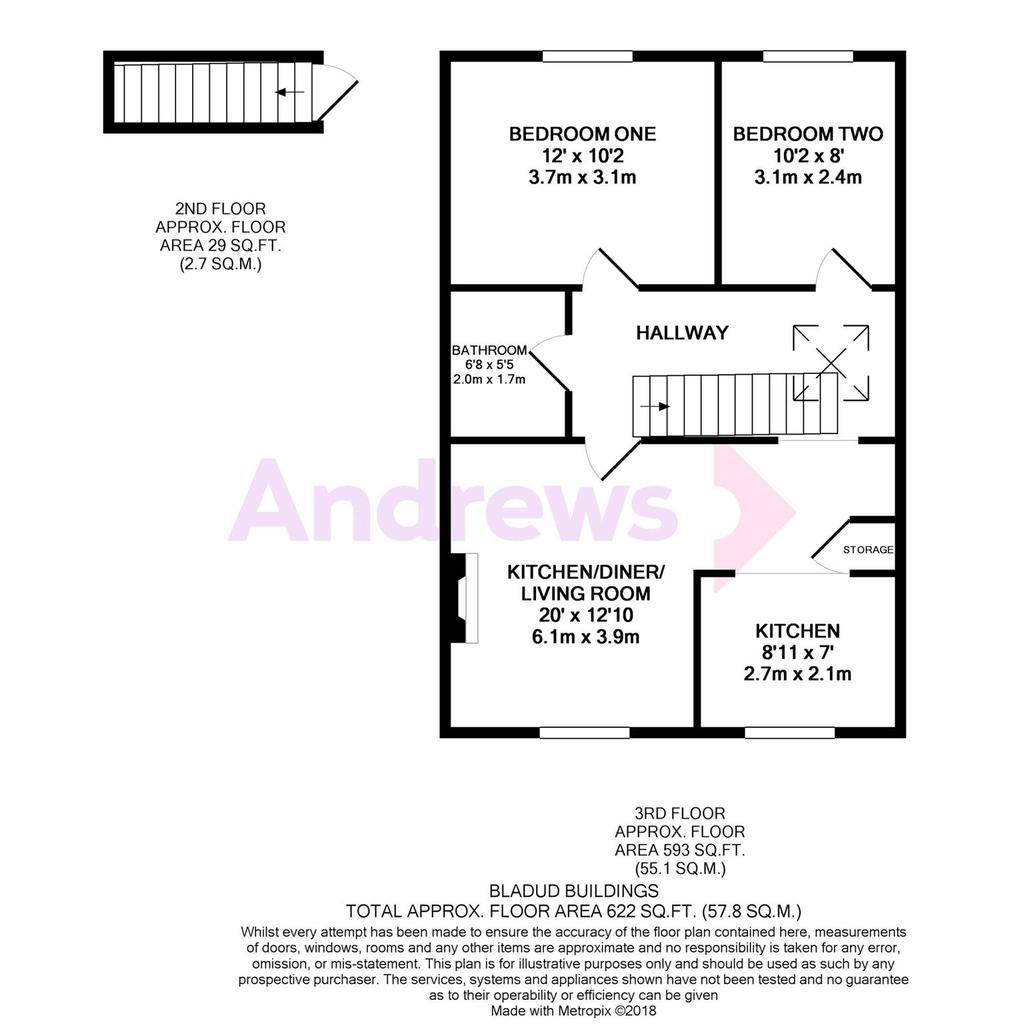 Floorplan: Bladud Buildings