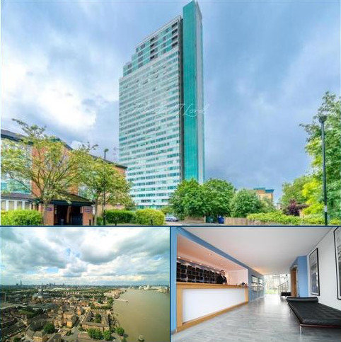 2 bedroom flat to rent - Aragon Tower, SE8