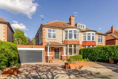 6 bedroom semi-detached house for sale - Osbaldeston Gardens, Gosforth, Newcastle Upon Tyne, Tyne And Wear