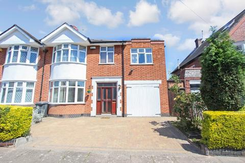 4 bedroom semi-detached house for sale - Ashleigh Road, Leicester, LE3