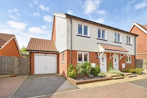 2 bedroom semi-detached house for sale - Fraser Way, Hawkinge, Folkestone, CT18