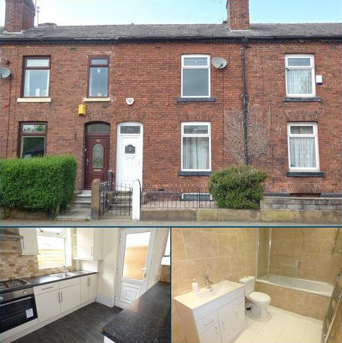 3 bedroom terraced house for sale - Manchester Old Road, Rhodes, Middleton, Manchester, M24