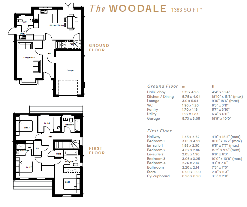 Floorplan: Illustration Purpose