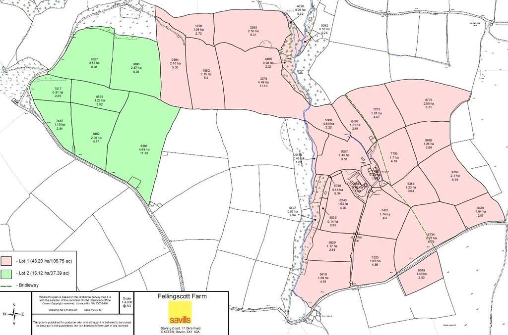 Floorplan 1 of 2: Land Plan