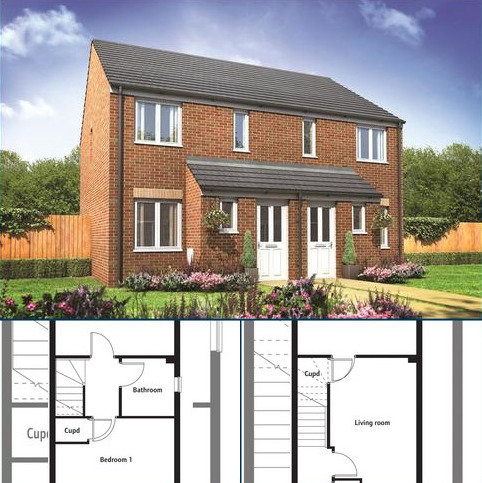 2 bedroom semi-detached house for sale - 166 Millers Field, Manor Park, Sprowston, Norfolk, NR7