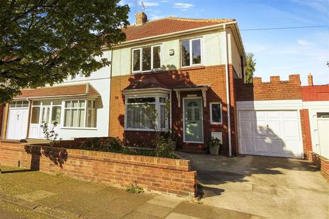 3 bedroom semi-detached house for sale - Haig Avenue, Whitley Bay, Tyne And Wear