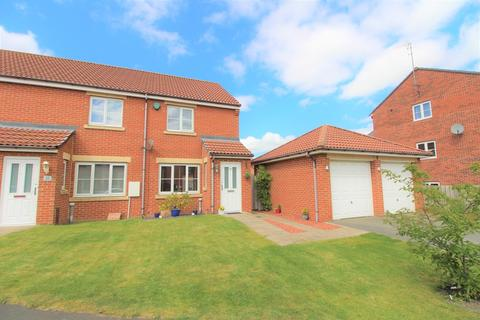 2 bedroom semi-detached house for sale - Hastings Drive, Shiremoor