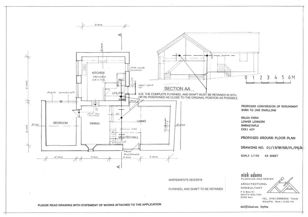 Floorplan 2 of 3: Proposed Floorplan