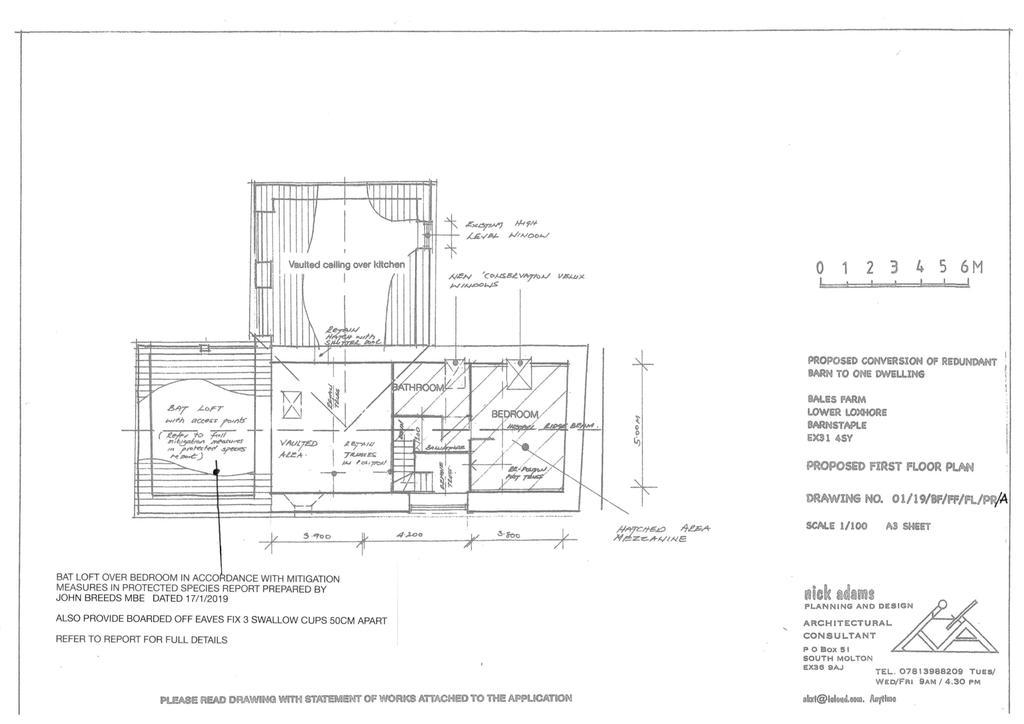 Floorplan 3 of 3: Proposed Floorplan