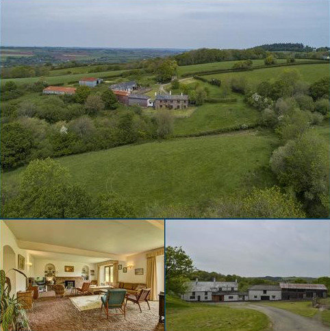 5 bedroom farm house for sale - Crediton Hamlet, Crediton, Devon, EX17