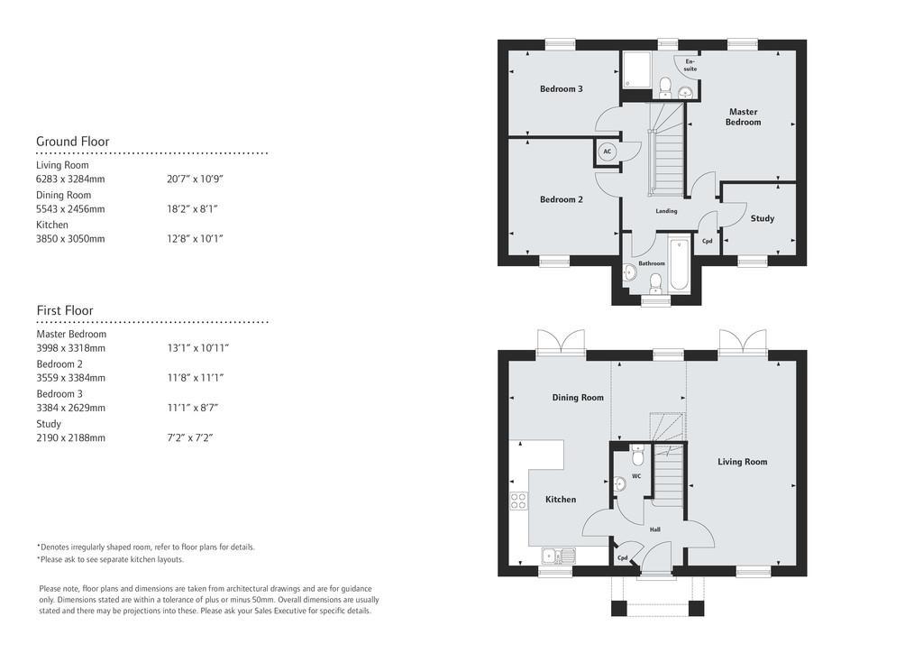 Floorplan 1 of 2: The Ribsden