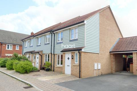 3 bedroom end of terrace house for sale - Davis Grove, Milton Keynes
