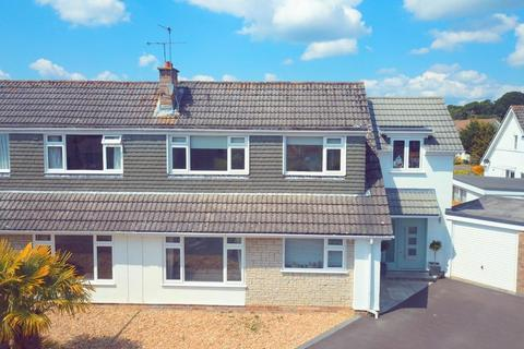 4 bedroom semi-detached house for sale - Southwestern Crescent, Whitecliff, Poole, BH14 8RS