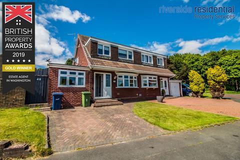 4 bedroom semi-detached house for sale - Beaumont Drive, Glebe, Washington,Tyne and wear, NE38 7RA