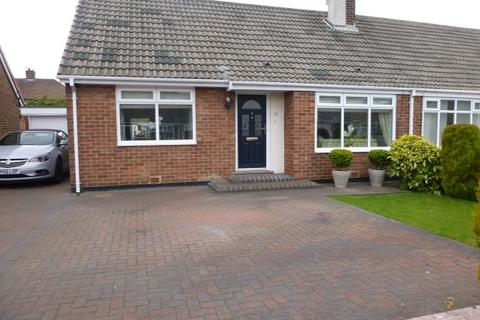 2 bedroom semi-detached bungalow for sale - GROSVENOR DRIVE, CLEADON, SUNDERLAND NORTH