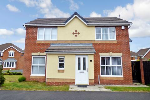 3 bedroom detached house for sale - New Moor Close, Ashington, Northumberland, NE63 8RQ