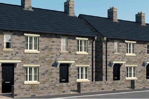 2 bedroom terraced house for sale - PLOT 51 THE BEAMSLEY PHASE 3, Green Lane Mills, Green Lane, Yeadon