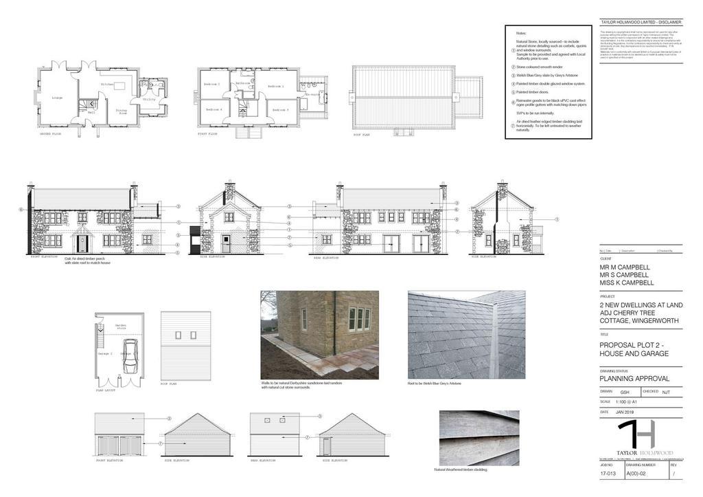 19 00069 fl proposal plot 2   house and garage a1