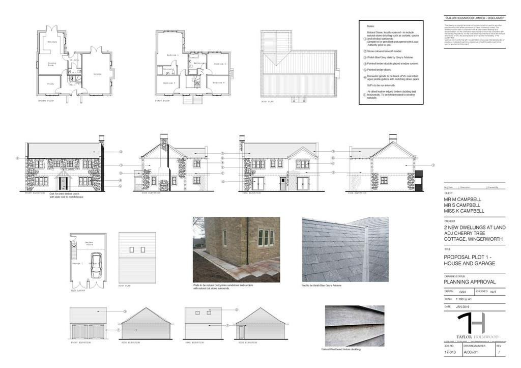 19 00069 fl proposal plot 1   house and garage a1