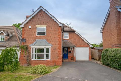 4 bedroom detached house for sale - Scrivener Close, Bushby, Leicester