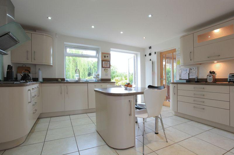 Fitted kitchen view