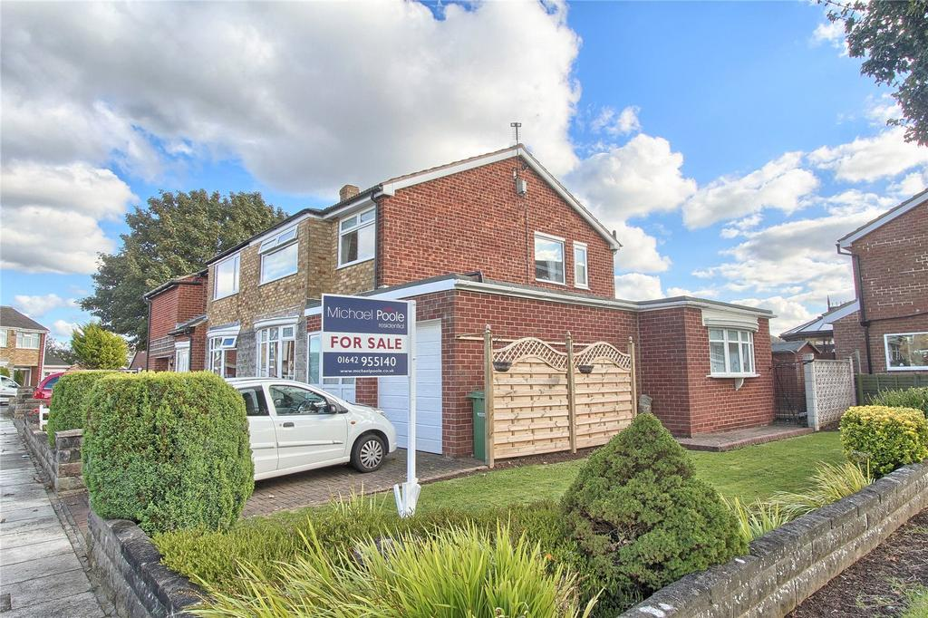 3 Bedrooms Semi Detached House for sale in Elton Road, Wolviston Court