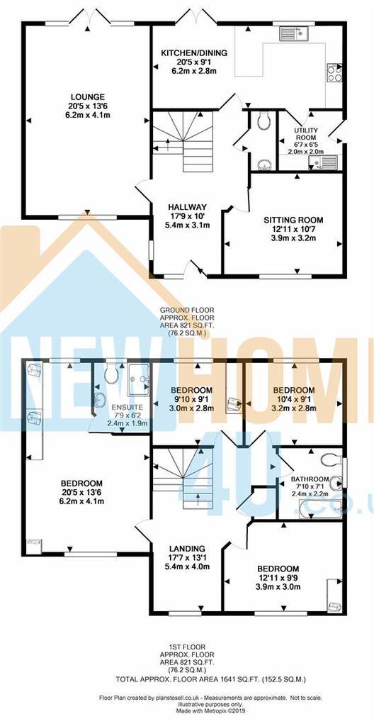 Floorplan 1 of 2: 6 Ewloe Heath FP 2.jpg