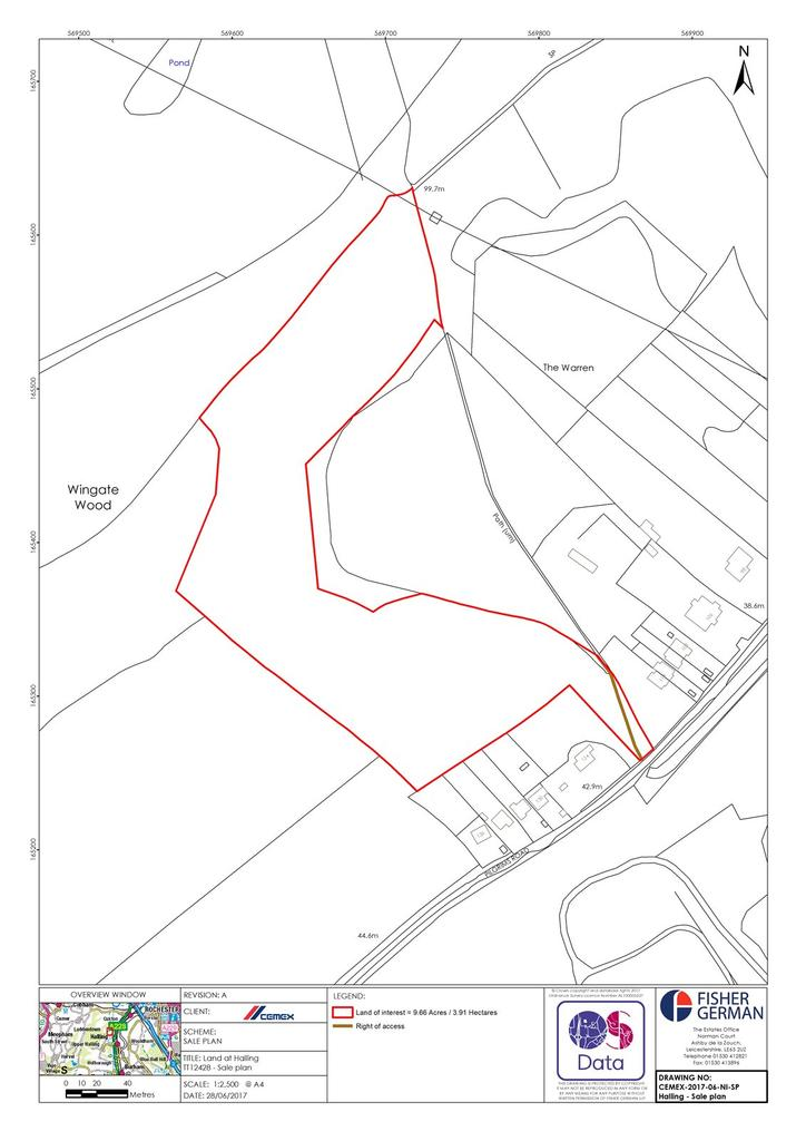 Land Commercial for sale in Halling, Rochester, Kent