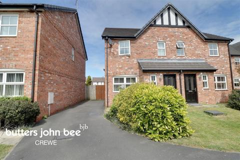 3 bedroom semi-detached house for sale - Farrier Court, Coppenhall, Crewe