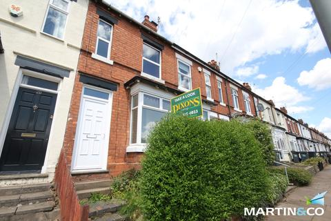 3 bedroom terraced house to rent - Hampton Court Road, Harborne, B17
