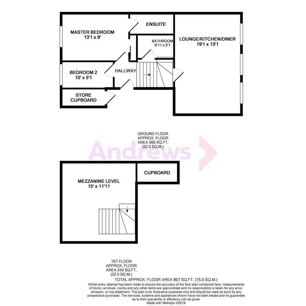 Floorplan: 6 Cranmore court