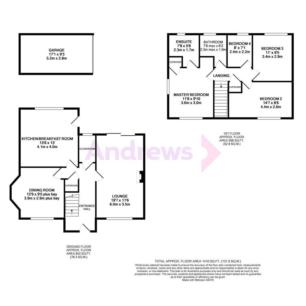 Floorplan: Gotherington Lane