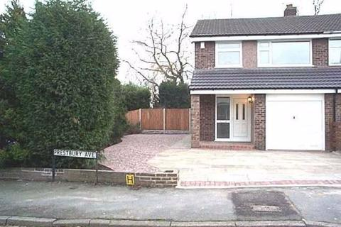 3 bedroom semi-detached house to rent - Prestbury Avenue, WA15 8HY