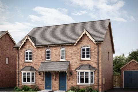 3 bedroom semi-detached house for sale - The Carnel at The Market Village, New Lubbesthorpe