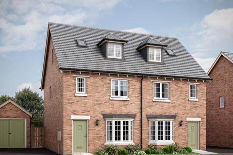3 bedroom semi-detached house for sale - The Chisley at The Market Village, New Lubbesthorpe