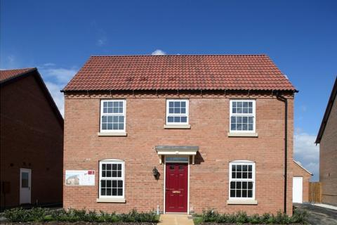 3 bedroom detached house for sale - The Dorset at The Market Village, New Lubbesthorpe