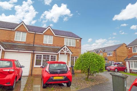 3 bedroom semi-detached house for sale - Bede Close, Holystone, Newcastle upon Tyne, Tyne and Wear, NE12 9SP