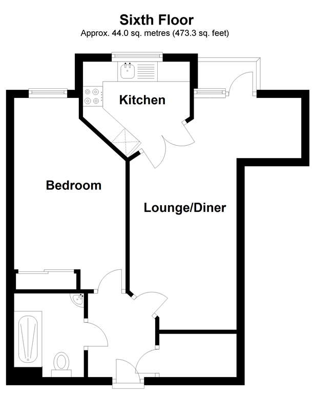 Floorplan: Sixth Floor